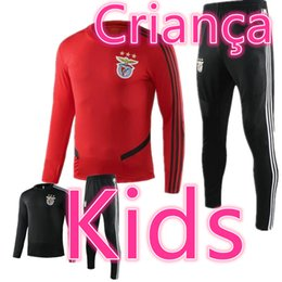 kids football trainers Coupons - psg benfica kids real madrid 2019 2020 Criança trainers soccer tracksuit kit Survêtement de football training suit jogging chandal futbol
