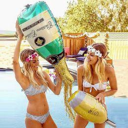 Decoración de fiesta de cumpleaños feliz Gafas de champán Botella de whisky Cerveza Cubilete Globo de la escuela secundaria Fiesta de bolas Globos Fiesta de bodas desde fabricantes