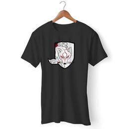 Chemises à engrenages métalliques en Ligne-Dieu Hound Okami Metal Gear Tshirt Style Style T-Shirt Rond Pour Homme / Femme