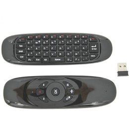 2019 google wireless mouse C120 Mini drahtlose Tastatur 2.4G USB-Empfänger Air fliegen Maus Mode Remote Sensing Gaming Mouse Tastatur für Smart TV Android TV BOX