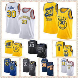 2020 curry NCAA March Madness Steph Stephen 30 guerreiros Curry jersey Golden State retrocesso DAngelo D'Angelo 0 Russell Klay Thompson 11 camisa de basquete desconto curry