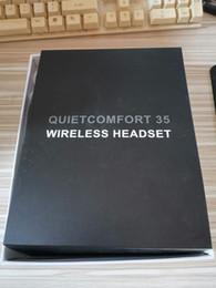 fob sem fio Desconto 35-QC Bluetooth auscultadores de cancelamento de ruído Auscultadores sem fios Microfone embutido Rechargeable Boa qualidade Headphones Headsets carro QC3 02