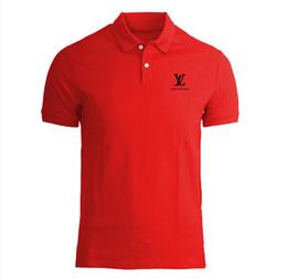 Argentina Camisa polo para hombre Marca Plus Size S-3XL Camisa polo de algodón Hombres Slim Fit Ropa de marca Polo negro sólido cheap men casual mens slim polos Suministro