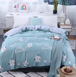 100% Gêmeo Completa Rainha King Size 1 pcs Capa de Edredão Cama de solteiro cama de casal quilt cover cama Têxteis Para Casa de Fornecedores de meninas de lã de veludo