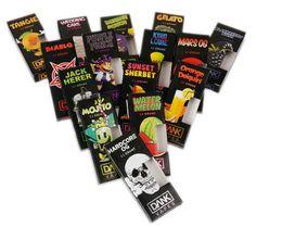 2019 billige öltanks 48 Geschmacksrichtungen Dank Vapes Cartridge Neu Black Pack 510 Gewinde 1.0ml 1 Gramm Keramikspule Vape Carts für dickes Öl