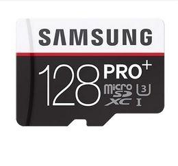 Samsung 128gb on-line-transporte DHL 8G / 16GB / 32GB / 64GB / 128GB / 256GB Baixo preço Original Samsung PRO + cartão micro sd / Tablet PC cartão TF C10 / SDXC cartão de cartão de memória de 90MB / S