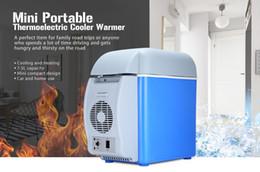 Livraison gratuite 12 V 7.5L Capacité Portable De Voiture Réfrigérateur Refroidisseur Chaud Camion Thermoélectrique Réfrigérateur Électrique pour Voyage RV Bateau ? partir de fabricateur