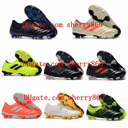 2019 nouvelle arrivée des hommes de chaussures de football Copa 19,1 FG crampons de football chaussures de football de coupe du monde copa mundial de