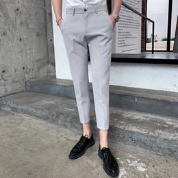 Mutter & Kinder Das Beste Männer Hosen 2019 Frühling Und Sommer Neue Hong Kong Stil Freizeit Schlank Füße Neun Hosen Dünne Hosen Persönlichkeit Männer Der Kleidung