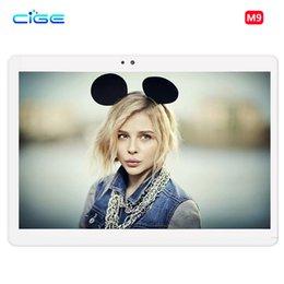 sensor duplo de 4 g Desconto 3G 4G Lte Tablet PC telefonema 10.1 polegadas MT8752 ips Android 6.0 1920x1200 Octa Core Câmera dupla e SIM GPS G-Sensor Bluetooth