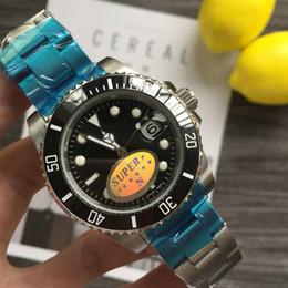 2019 relojes de madera hechos a mano Rolex master Diseñador Orologio di Lusso Hombres Reloj automático Relojes verdes 116610LV Relojes Orologio Orologi da Uomo