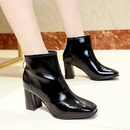 f134c0e2bacf5 2019 zapatos impermeables para mujer Zapatos casuales de mujer botas de  mujer botines mujer 2018 botte