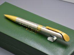 canetas metálicas de qualidade Desconto Melhor presente de Natal-com caixa de luxo embalagem de alta qualidade Rlx Branding Metal Caneta Esferográfica canetas Esferográficas papelaria material escolar
