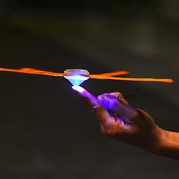 Argentina LED Boomerang Fidget Spinner Toys 2 EN 1 Los más nuevos niños divertido juguete al aire libre divertido juguete deportivo Luminous Outdoor Park Toy windstick especial cheap spinner sport Suministro