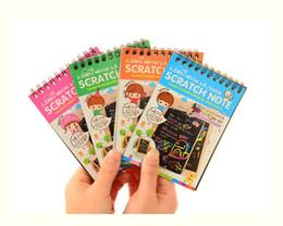 Bloc-notes Carton noir bricolage créatif dessiner croquis notes pour enfants jouet cahier à colorier dessin carnet de notes fournitures ? partir de fabricateur