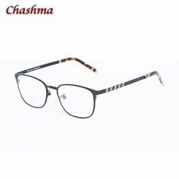 bfb5480dde Chashma Designer 2019 Men Blue Optical Glasses Frame Vintage Top Quality  Titanium Eyeglass for Prescription Lenses Round Eyewear round titanium  eyeglass ...