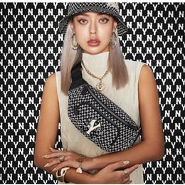 Sac bandoulière kaki homme en Ligne-TS Lettre Logo Complet Imprimé Messenger Sac Pocket Street Mode Hommes Designer Femmes Couples Noir Kaki Poitrine Sac TSYSBB071