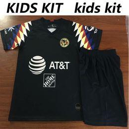 8d130491a Club America Soccer Jersey 2019 2020 kids kit 19 20 Liga MX O.PERALTA  G.RODRIGUEZ MATEUS MARTINEZ Top boys Football shirt shorts club america  shirts for ...