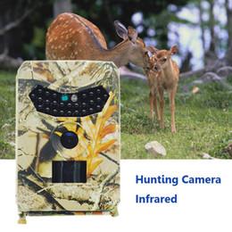 2019 cámara oculta al aire libre Cámara al aire libre juego de la caza 1080P HD lente de visión amplio ángulo IP56 a prueba de agua la cámara de infrarrojos Trail SP-100