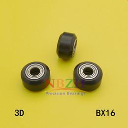 Для Openbuilds малое пластичное колесо с подшипниками пассивная круглая шестерня шкива зеваки колеса perlin для принтера 3D разделяет BX16 supplier plastic gear wheels от Поставщики пластиковые шестерни