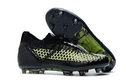 Nuevas zapatillas de fútbol spike online-Nuevo Griezmann Reus Future 2019 Netfit Fg / ag Suarez Griezmann 18.1 Netfit On / off Fg Hyfg Spike MensV3 Fútbol Fútbol Zapatos Botas Calas 2.1