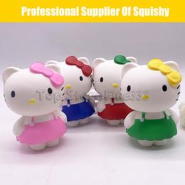 Kt spielzeug online-Squishy Spielzeug Hallo KT Baby Langsam Steigenden Jumbo Stress Lindern Puppen Multicolor Kinder Squeeze Spielzeug Kinder Dekompression Spielzeug beste qualität