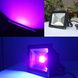 suprimentos de festa de luz negra Desconto UV LED de Alta Potência 10 W UV Projector IP65 À Prova D 'Água, Para A Festa de Luz Negra suprimentos, luz de néon, brilho escuro, pesca, aquário, cura violeta