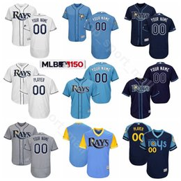 Jersey 66 online-Tampa Bay Baseball Rays 12 Wade Boggs Jersey 66 Don Zimmer 13 Carl Crawford 3 Evan Longoria Aubrey Huff Fred McGriff Nome personalizzato