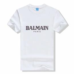 Xxxl designer t-shirts online-Modedesigner-Frauen Balma in gedruckten Mens-Modedesigner-T-Shirts Spitzen-Kurzarm-Hemden S-XXXL 14Colors ZX016