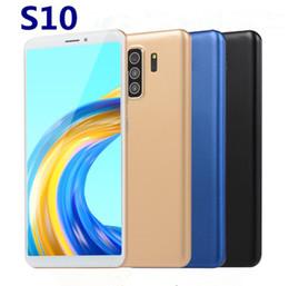 S10 5.8 '' Четырехъядерный процессор Goophone 1 ГБ ОЗУ 4 ГБ ПЗУ 3G LTE разблокированный смартфон Мобильные телефоны X129 cheap smart phones 1gb ram от Поставщики смартфоны 1gb ram