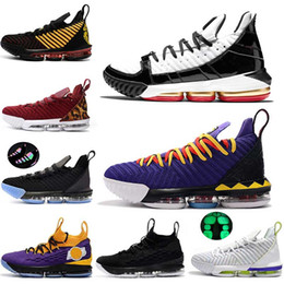 Basketball shoes king online-James 16 Martin Remix 15 Lakers King Mens Scarpe da pallacanestro Super Bron Hollywood Equality CAVS Fear of God Uomo Sneakers LE US 7-12