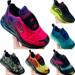 Chaussures câblées en Ligne-Chaussures Nike air max 720 de planche à roulettes chaussures de bébé enfants Superstar Femme Sneakers enfants Zapatillas Deportivas Mujer Lovers Sapatos Femininos taille 28-35