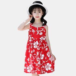 efb4732dee2 2019 летняя одежда для девочек-подростков Платье Girls Sun Dress For Kids Летняя  одежда для
