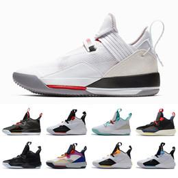US7 12 SE All Star 33s XXXIII 33 Hommes Chaussures De Basketball Armée Olive Noir Ciment Tigre Camo Tech Pack Guo Ailun Baskets Baskets