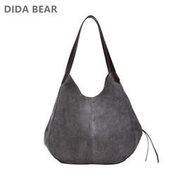 2019 сумки для покупок DIDABEAR женские холщовые сумки высокого качества женские бродяги одно плечо сумки старинные твердые Multi-pocket дамы Totes Bolsas #125995 дешево сумки для покупок