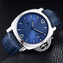 relógio de três agulhas Desconto 2019 Top Marca de Moda PANERA Relógios Três séries de agulhas pequena agulha executada em segundo Luxo moda mens relógios Casual Quartz Wristwatch5