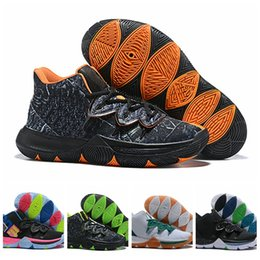 magic shoes high Coupons - 2019 New Kyrie Black Magic V 5 Mens Basketball Shoes Irving 5S Zoom Sport training Sneakers High Ankle Size 40-46