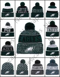 En gros Philadelphia Sport Hiver Chapeaux Eagles Cousu Équipe Logo Marque Chaud Hommes Femmes Vente Chaude Bonnets Tricotés Pas Cher Mélangé Bonnets ? partir de fabricateur