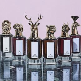 Retrato animal de homens e mulheres perfume, a nova edição do charme limitado, 75ml, o preço é apropriado, sem postagem, entrega rápida cheap animal spray de Fornecedores de pulverizador animal