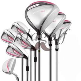 lila golfclubs Rabatt Komplettes Schlägerset CL Damenschlägerset Nur Golfschläger, kein Ballset