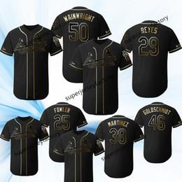 jersey de béisbol de franela Rebajas 2019 camisetas de Golden Edition 29 Alex Reyes St. Louis Harrison Bader miles mikolas José Martínez Dexter Fowler Marcell Ozuna Jersey