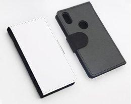 Coperture del telefono delle cellule diy online-Cover per telefono cellulare in pelle PU vuota sublimazione per iPhone X / XS / XR / XSMax