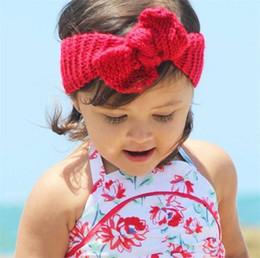 32 Cor Newborn Malha Crochet Bowknot Turbante Elástico Headband Do Bebê Crianças Headwrap Headwear Adulto Chid Acessórios Para o Cabelo T326 supplier adult crochet headbands de Fornecedores de headbands de crochê adulto