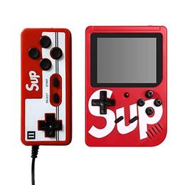 Tv connect онлайн-Оптовая SUP Game Box 400 в одной портативной игровой консоли можно подключить к телевизору черный 2 игрока