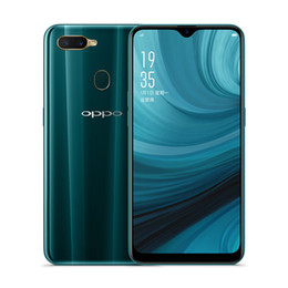 k1 téléphones cellulaires Promotion Original OPPO A7 4G LTE téléphone portable 4 Go de RAM 64 Go de ROM Snapdragon 450B Octa Core Android 6.2 pouces Plein écran 16.0MP ID de visage Smart Phone Mobile