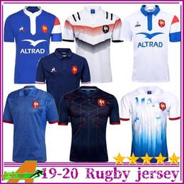 Novo estilo 2018 2019 França Super Rugby Jerseys 18 19 France Camisetas Rugby Maillot de Foot Francês BOLN Rugby tamanho da camisa S-3XL de