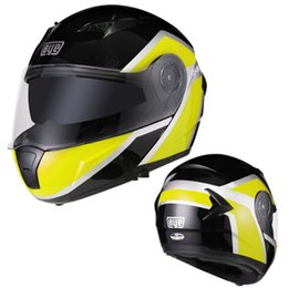 double flip motorcycle helmet Promo Codes - 2019 good quality New Arrival Double Shield Motorcycle helmet DOT approved flip up motorbike helmet for Adult of motorbikes