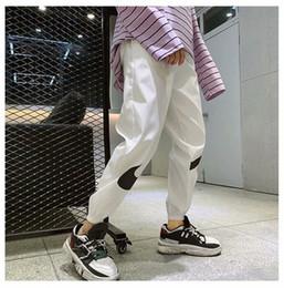 Marca Para hombre Pantalones deportivos Hermanos Pantalones deportivos Primavera Otoño Pantalones causales Noveno Adolescente Lápiz Pantalones Ropa masculina desde fabricantes