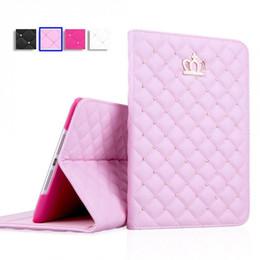 Flip Tablet PC Kapak Kılıf Taç Elmas Deri Tablet Kılıf iPad 3 4 Mini 2 3 Hava 2 iPad Kılıfları nereden