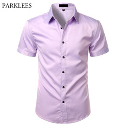 Gomis 3XL Plus Size Solid Summer Polo Shirts Male Turn-Down Collar Short Sleeve Shirts Man Business